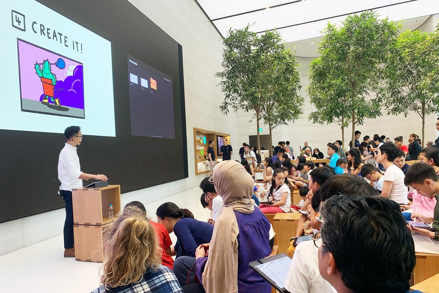 Today at Apple Workshop