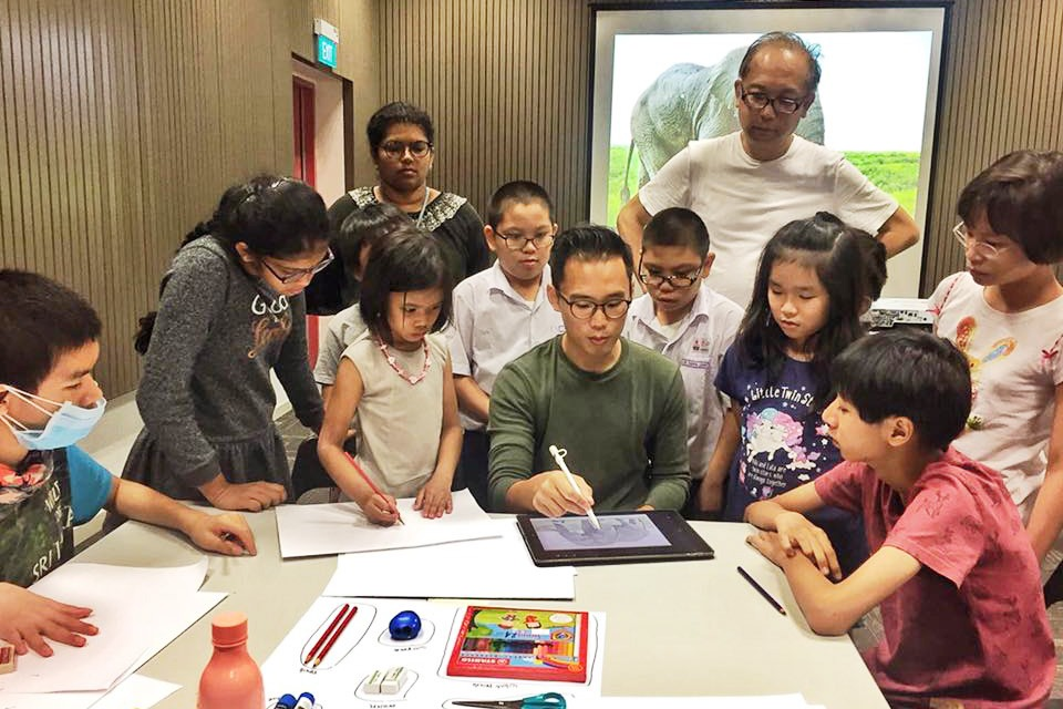 Picture Book Workshop, Club Rainbow Singapore