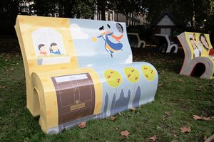 The East Wind Bookbench